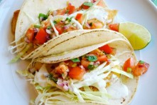 Fish Tacos with Lime Sauce Recipe Thumbnail